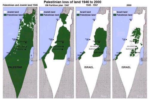 map story palestine